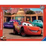 Ravensburger-06766 Puzzle 37 Teile Rahmenpuzzle - Cars: Autofreundschaft