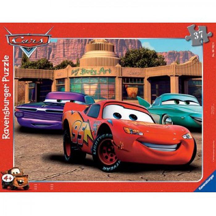 Puzzle 37 Teile Rahmenpuzzle - Cars: Autofreundschaft