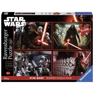 Ravensburger-06850 4 Puzzles - Star Wars