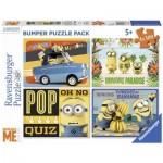 Ravensburger-06863 4 Puzzles - Minions