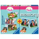 Ravensburger-06873 3 Puzzles Heidi + Memory