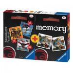 Ravensburger-07068 Dragons 3 Puzzles + Memory