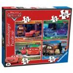 Ravensburger-07259 4 Puzzles - Cars