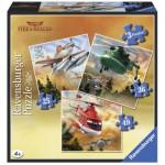 Ravensburger-07288 3 Puzzles - Planes