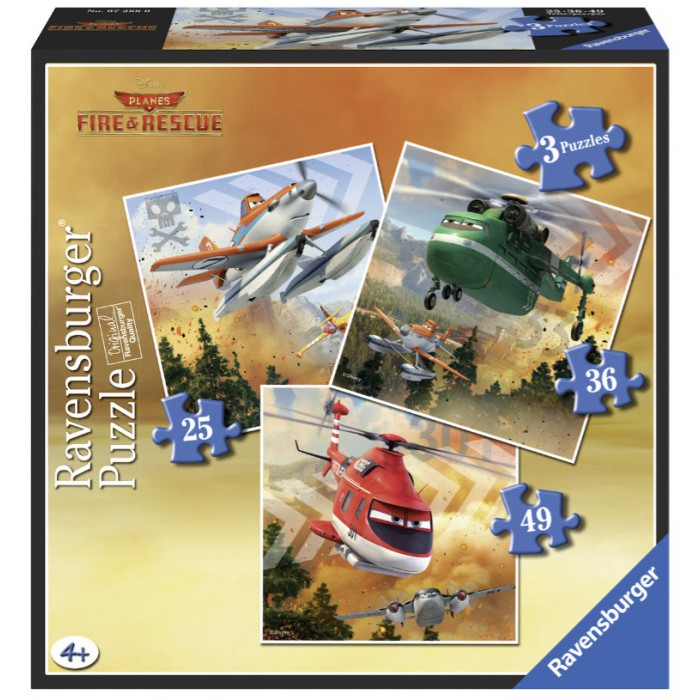 3 Puzzles - Planes