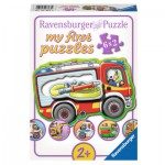 Ravensburger-07367 6 Puzzles - Meine Lieblingsberufe