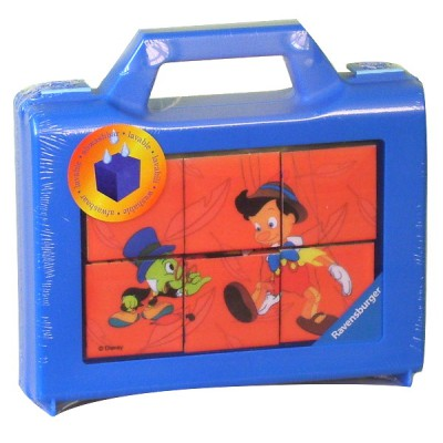 Ravensburger-07459 Würfelpuzzle: Pinocchio
