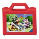 Ravensburger-07465 Würfelpuzzle - Mickey und Donald