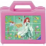 Ravensburger-07472 Würfelpuzzle - Liebste Disney Prinzessinnen