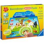Puzzle  Ravensburger-07501 Tiere dieser Welt