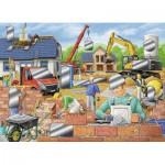 Puzzle  Ravensburger-07510 Spaß auf der Baustelle