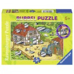 Puzzle  Ravensburger-07511 Spaß auf dem Bauernhof