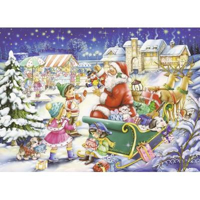 Puzzle Ravensburger-07548 Weihnachtszauber