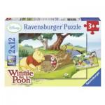 Puzzle  Ravensburger-07552 Schöner Tag mit Winnie