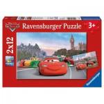 Puzzle  Ravensburger-07554 McQueen und Freunde