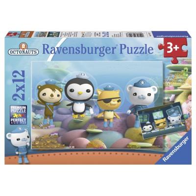 Puzzle Ravensburger-07557 Octonauten, die kleinen Helfer