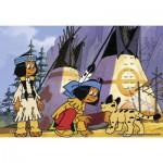 Ravensburger-07559 2 x 12 Teile Puzzleset - Yakari der kleine Indianer