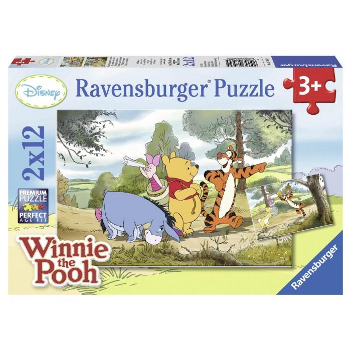 2 Puzzles - Winnie Pooh