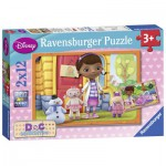 Puzzle  Ravensburger-07576 Doc McStuffins
