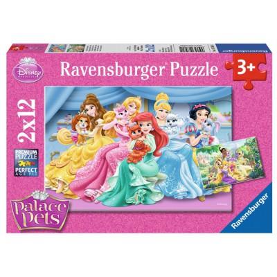 Puzzle Ravensburger-07580 Süße Palace Pets