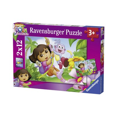 Puzzle Ravensburger-07581 Dora
