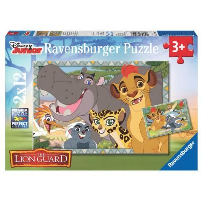 Ravensburger-07599 2 Puzzles - The Lion Guard