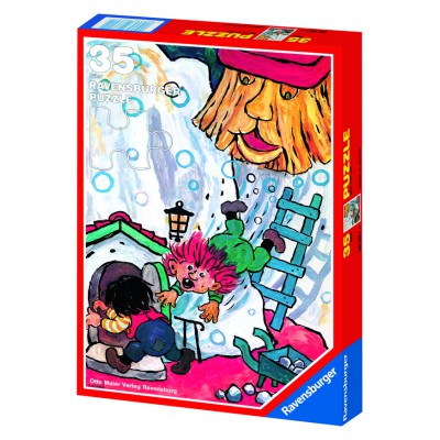 Puzzle Ravensburger-08621 Karius und Baktus