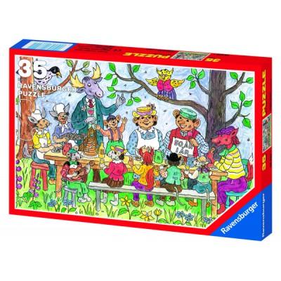 Puzzle Ravensburger-08622 Hakkebakkeskogen