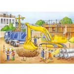 Puzzle  Ravensburger-08646 Die Baustelle