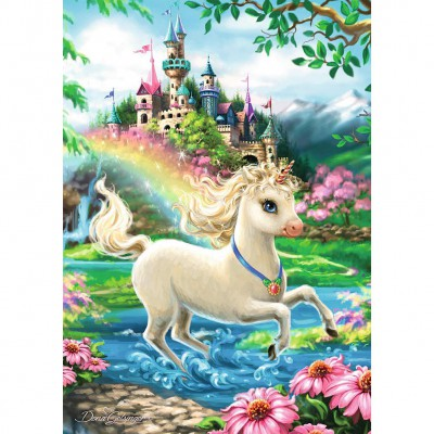 Puzzle Ravensburger-08765 Unicorn Castle