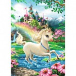 Puzzle  Ravensburger-08765 Unicorn Castle