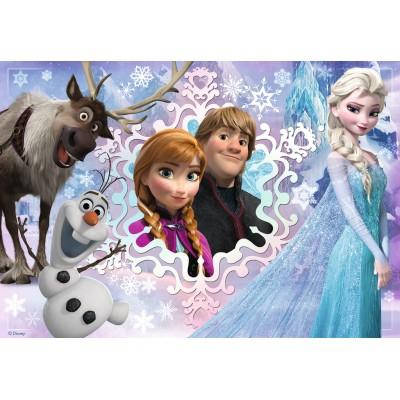 Puzzle Ravensburger-08766 Frozen - Die Eiskönigin