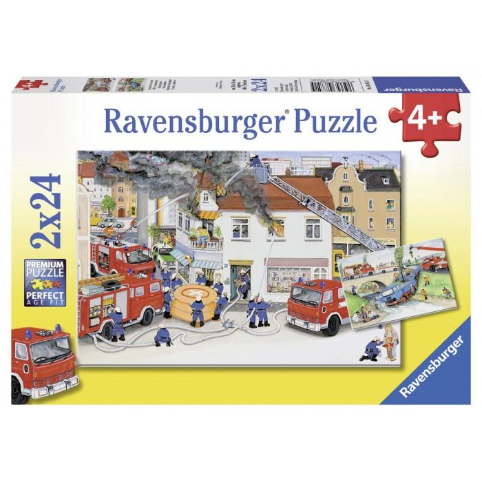 2 Puzzles - Bei der Feuerwehr