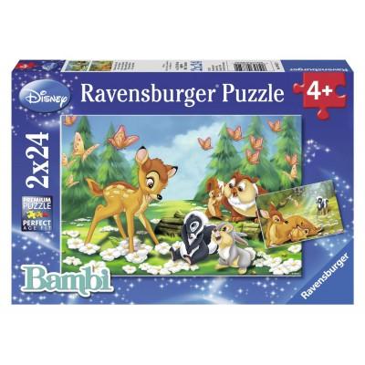Puzzle Ravensburger-08852 Mein Freund Bambi