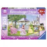 Puzzle  Ravensburger-08865 Zauberhafte Prinzessinnen