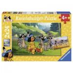 Puzzle  Ravensburger-08873 Yakari und seine Freunde