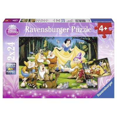 Puzzle Ravensburger-08889 Schneewittchen