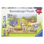 Puzzle  Ravensburger-08899 Vorsicht Baustelle!
