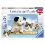 Puzzle  Ravensburger-08931 Wahre Freunde
