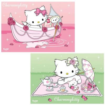 Puzzle Ravensburger-09049 Charmmy Kitty unterwegs