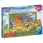 Ravensburger-09104 2 Puzzles - The Lion Guard
