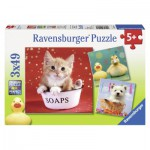 Puzzle  Ravensburger-09248 Lustige Tierwelt