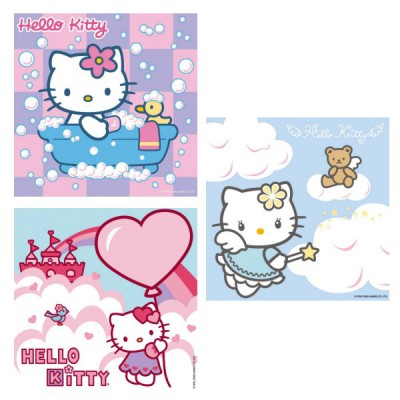 Puzzle Ravensburger-09271 Hello Kitty