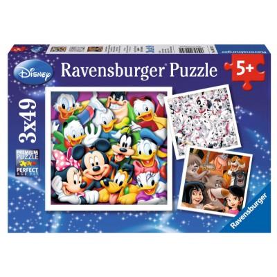 Puzzle Ravensburger-09274 Disney