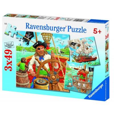 Puzzle Ravensburger-09275 Piratenabenteuer