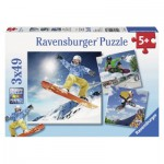 Puzzle  Ravensburger-09287 Action Sport