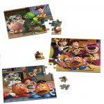 Ravensburger-09297 Puzzle 3 x 49 Teile - Toy Story 3