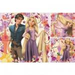 Puzzle  Ravensburger-09298 Walt Disney: Rapunzel