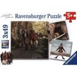 Ravensburger-09303 3 Puzzles - Schellen Ursli