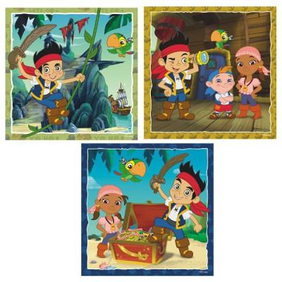 Puzzle Ravensburger-09337 Jakes Piratenwelt